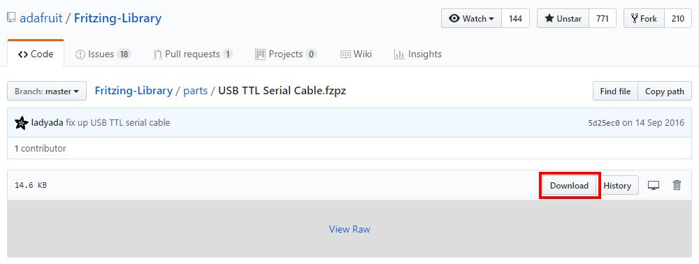 Componentes: Módulo USB a TTL y Teclado matricial en