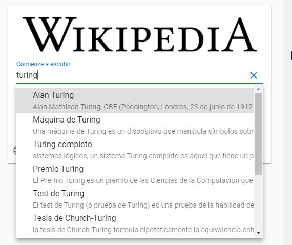 Resultados de la búsqueda | Consumiendo API de wikipedia