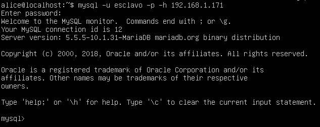 Probar conexión desde Ubuntu a Windows con MySQL