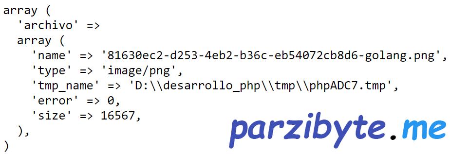 Subir archivo a PHP con HTML