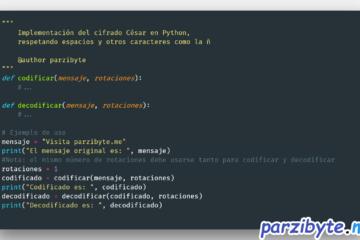 Cifrado césar en Python
