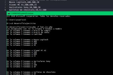 Leer archivo CSV con PHP