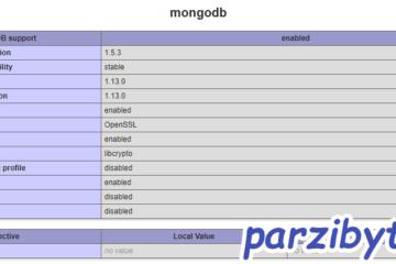 Verificar que la extensión de MongoDB se ha cargado