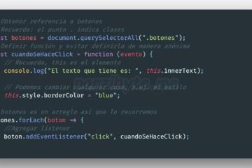 Escuchar click de botones en JavaScript