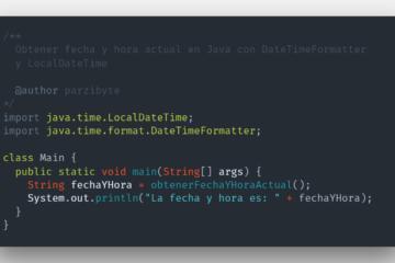 Java - obtener fecha y hora actual como cadena usando formato