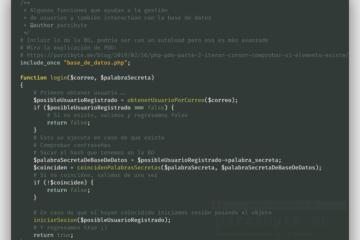 PHP y MySQL - Login, registro y autenticación de usuarios