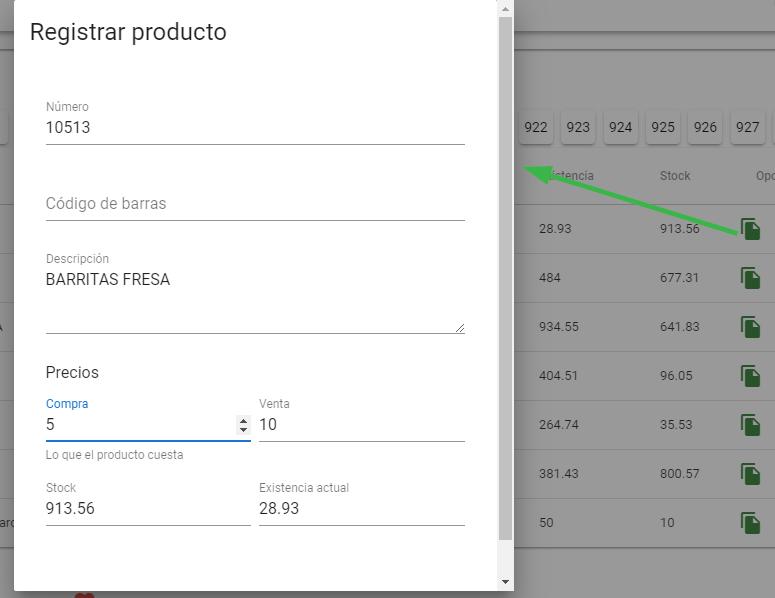 Clonar producto y rellenar formulario de manera automática