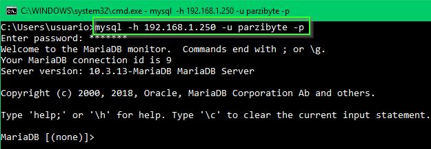 Conectar a servidor de MySQL sobre Android
