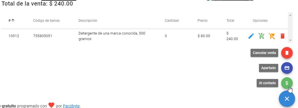 Control de ventas de productos con Sublime POS 3