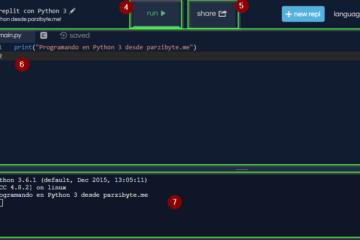 Editor de Python 3 en línea