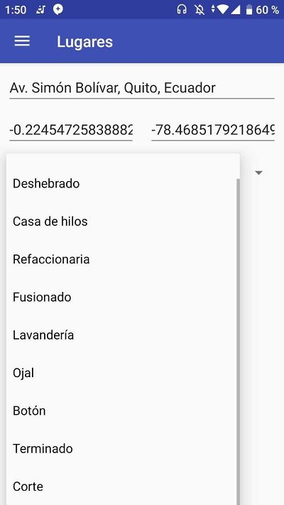 Spinner llenado con Array de Strings en Android