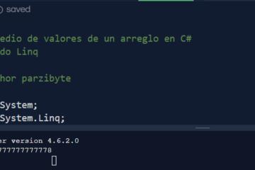 C# con Linq - Promedio de valores de un arreglo