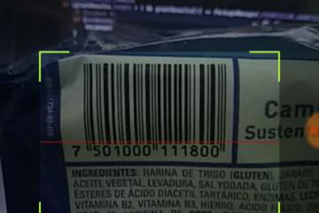 Lector de código de barras con Android