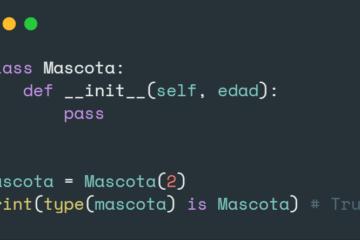 Obtener tipo de variable en Python
