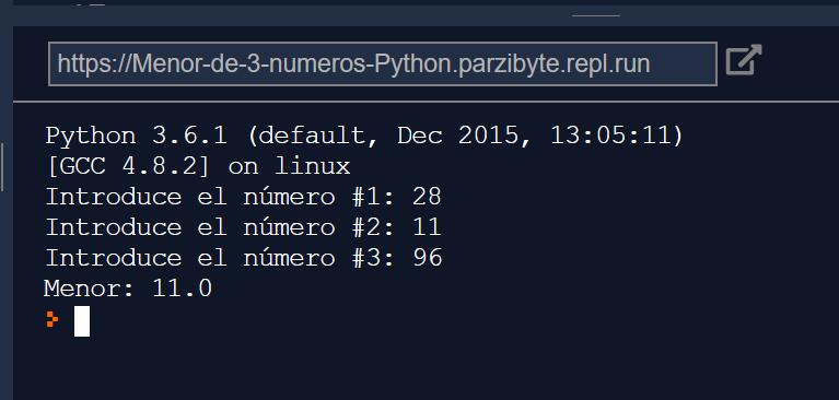 Python - Mayor y menor de 3 o más números