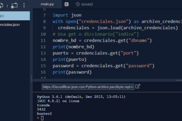 Trabajar con JSON en Python 3
