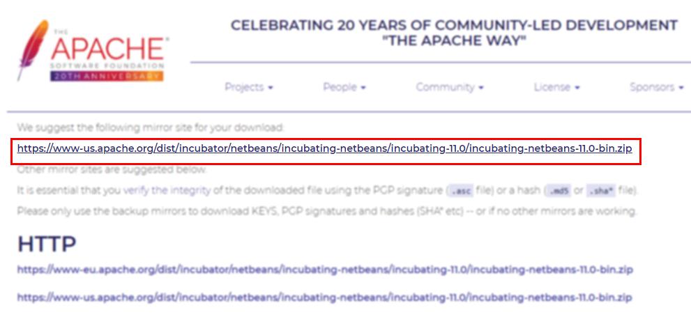 Instalar y descargar NetBeans IDE 11 - Parzibyte's blog