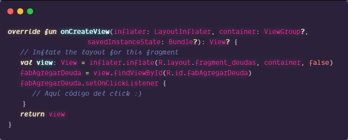 findViewById en Fragment de Android usando Java o Kotlin
