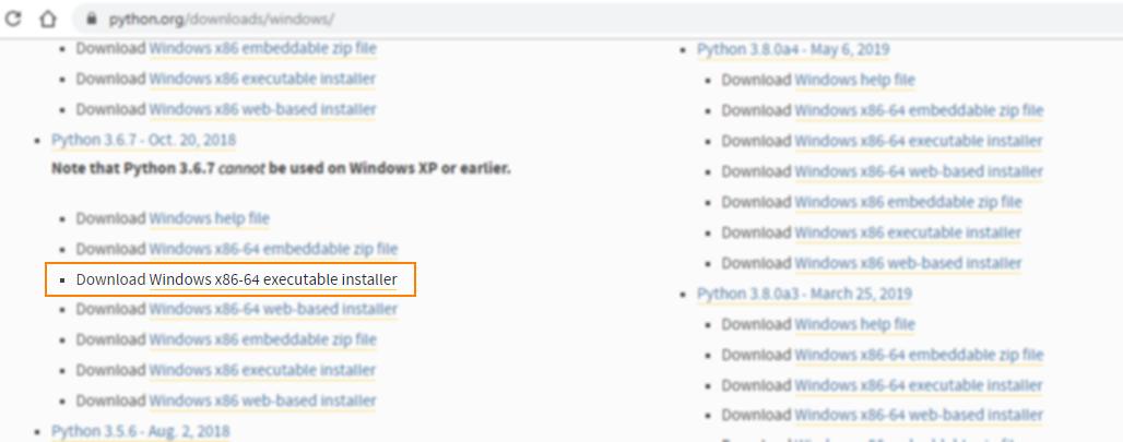 Descargar Python 3.6