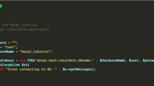 MySQL and PHP connection using PDO