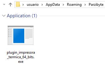 Ubicación del ejecutable para iniciar con Windows