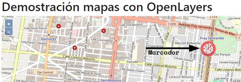 Agregar marcador a mapa de OpenLayers