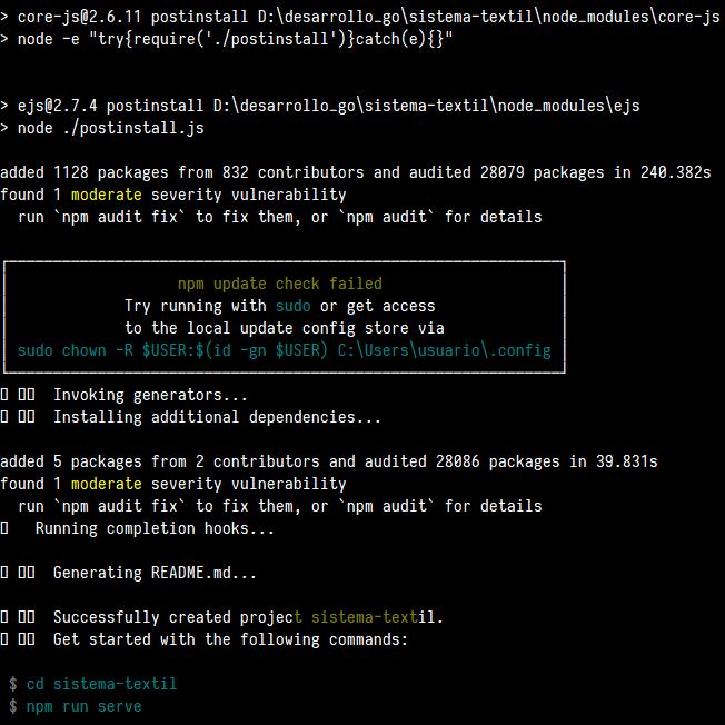 Generando proyecto de Vue con TypeScript - Instalación de dependencias