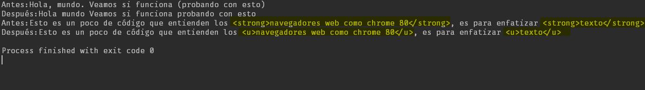 Java - Remplazar cadenas con expresión regular