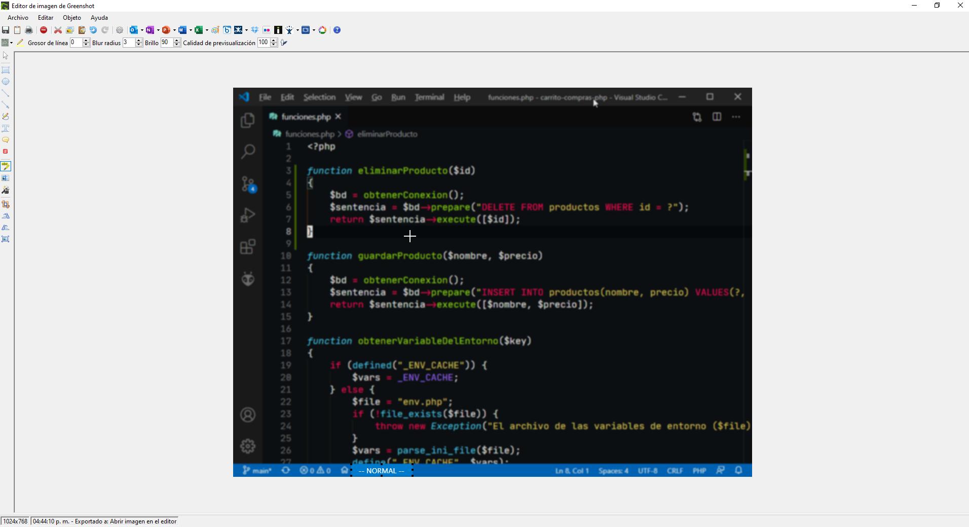 Greenshot - Herramienta para capturas de pantalla en Windows