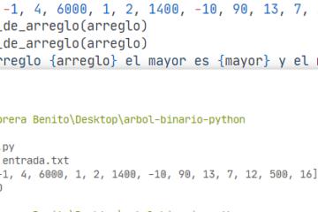 Python - Obtener elemento menor y mayor de una lista