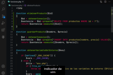 Vim integrado dentro de Visual Studio Code