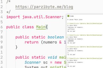 Programación Java - Saber si número es par sin usar operador módulo