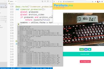 Trabajando con cámara en Python - Tomar fotos y grabar vídeos usando Flask y OpenCV