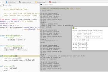Ejemplo completo de Python, Peewee y MySQL MariaDB