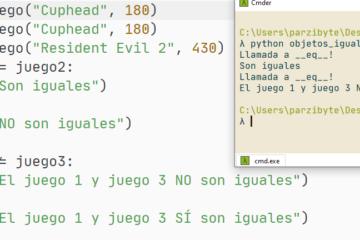 Comparación de objetos con Python