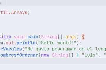 Ejecutar programa de Java en Visual Studio Code