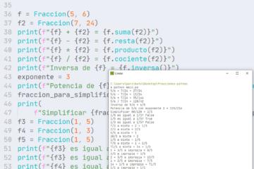 Fracciones mixtas e impropias en Python - Manejo de operaciones de quebrados
