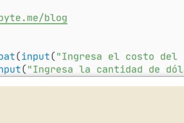 Python - Conversión de dólares a pesos