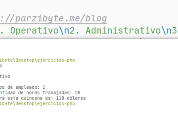 Cálculo de nómina con PHP - Ejercicio resuelto