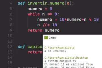 Capicúa en Python