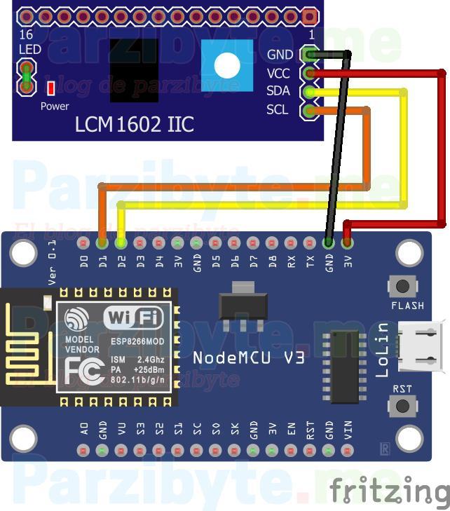 Dirección I2C con ESP8266