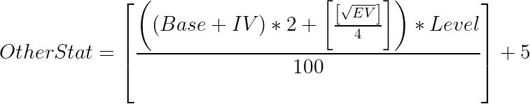 Fórmula para calcular otros puntos estadísticos