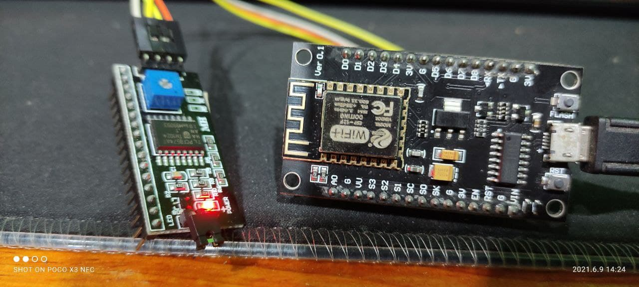 I2C con NodeMCU ESP8266 - Averiguar dirección hexadecimal