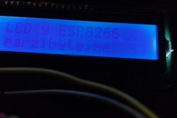 Imprimir texto en LCD con NodeMCU ESP8266 e I2C