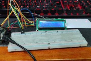 Lector RFID con LCD para implementar tarjeta de débito y guardar saldo o dinero