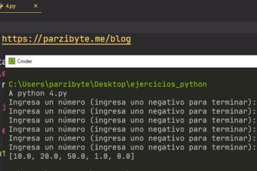 Python - Llenar lista con números hasta que uno sea negativo
