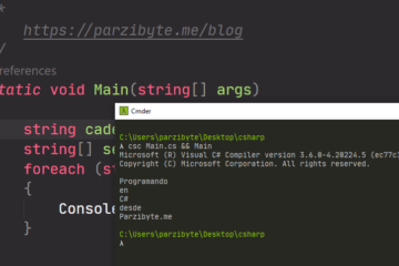 Separar cadena por espacios en C sharp usando Split