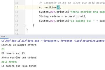Solución a comportamiento raro de Scanner en Java