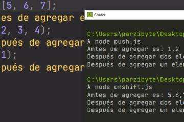 Agregar elemento a arreglo con JavaScript