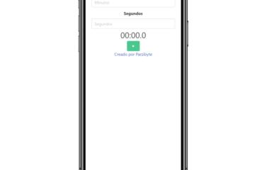 Aplicación de temporizador con JavaScript - Programar tiempo restante